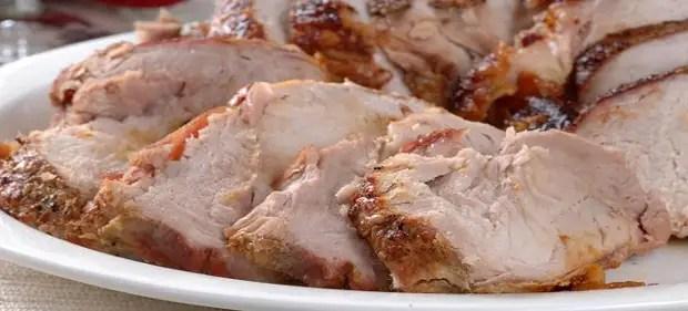 Bujénine porc dans la manche dans le four