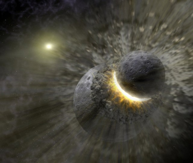 The Inner Solar Systems Biggest Known Collision Was The Moon Forming Giant Impact Between A Large Protoplanet And The Proto Earth