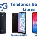 Teléfonos móviles baratos libres: Cuáles son los mejores