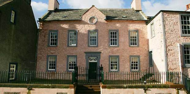 The entrance to the 18th-century town house © The National Trust for Scotland