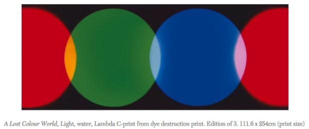 A Lost Colour World - Garry Fabian Miller
