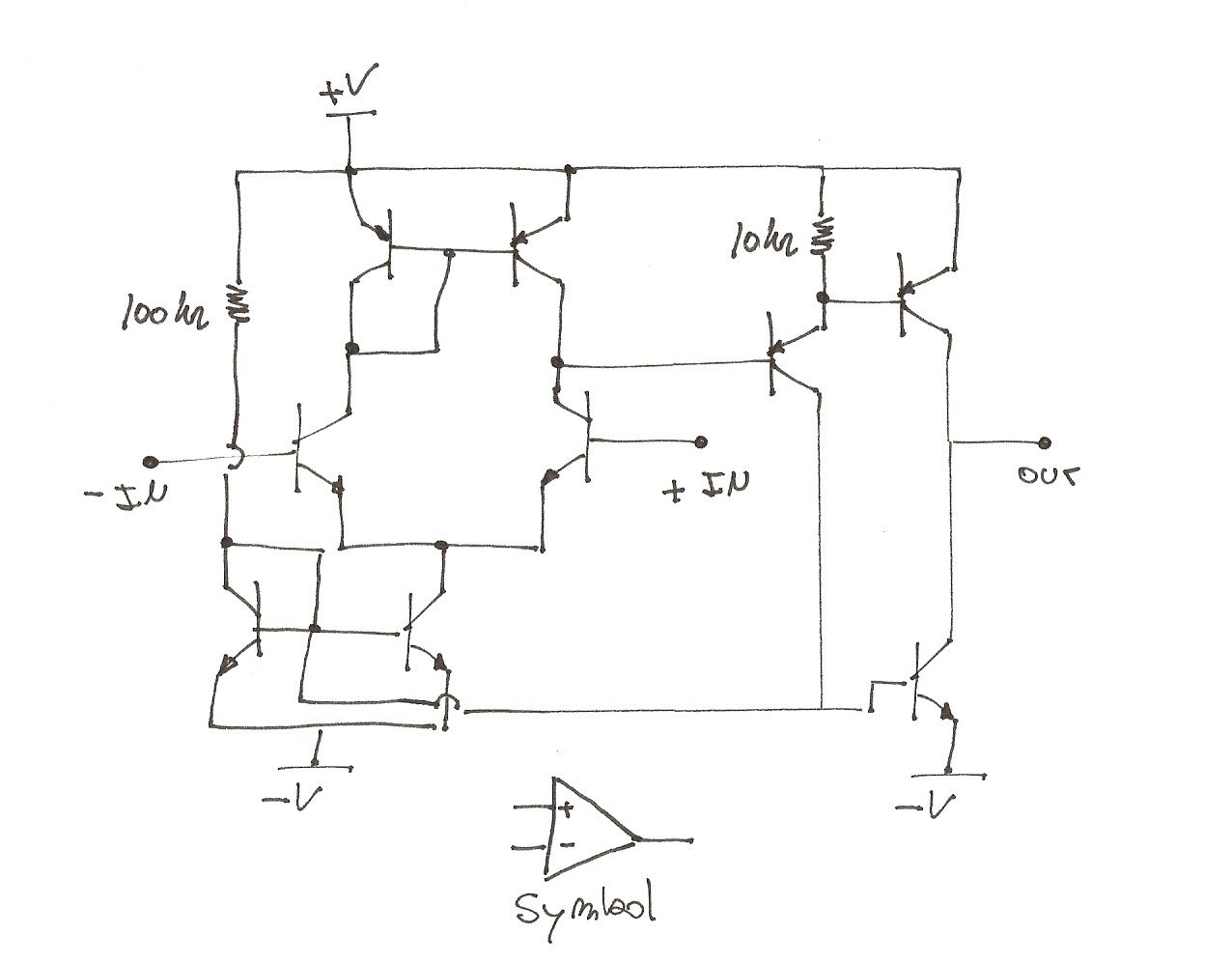 Impractical 555 Timer With Transistors