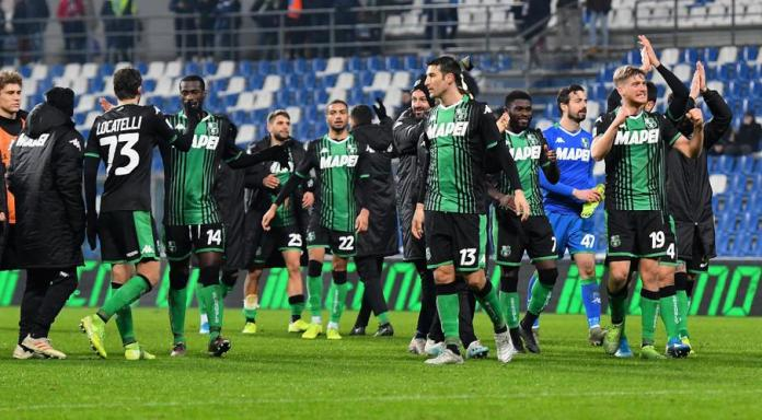 Sassuolo players run on empty pitches as training resumes | SuperSport