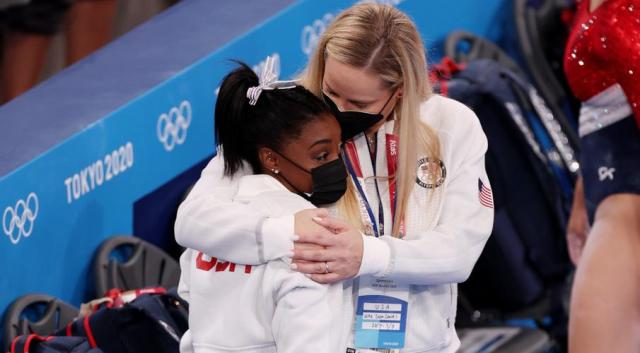 Biles out of gymnastics final and Osaka makes shock Olympics exit
