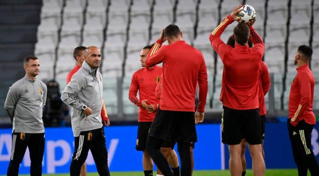 Belgium better than when they last played France - Martinez