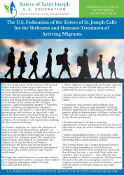 thumbnail of 11-1-18 Arriving Migrants Statement