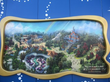 東京ディズニーランド 新エリア オープンまで待てない!! お城やアトラクションは、どこまで出来ているの?