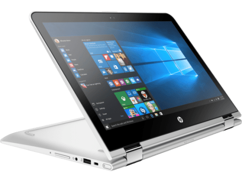 c05115162 - hp pavilion x360 convertible laptop upgraded with latest processor and windows hello support