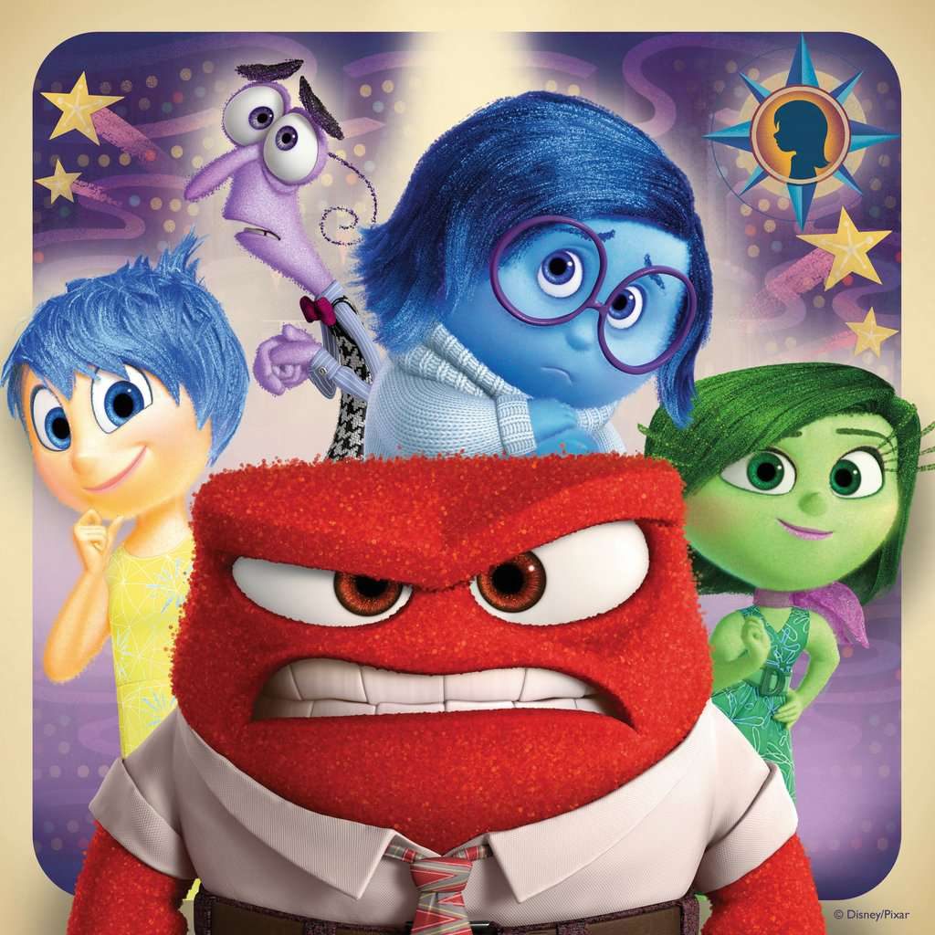 Disney Inside Out 3x49pc