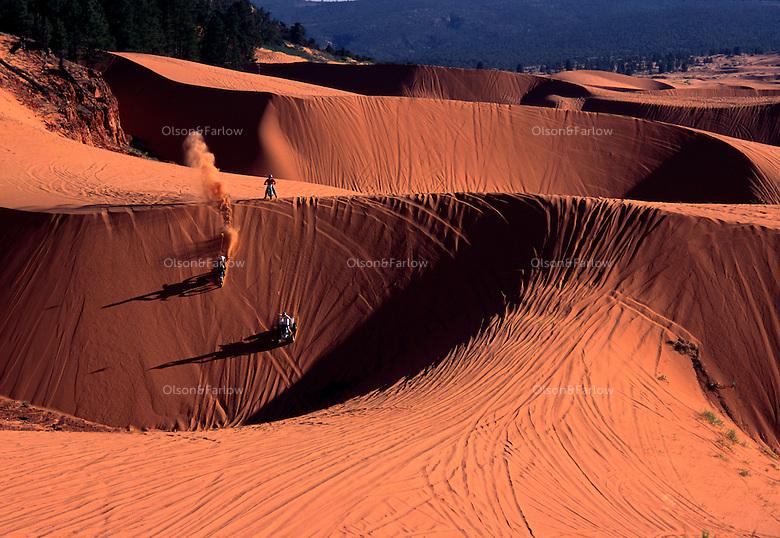 Map Utah Sand Dunes 4 Wheeler
