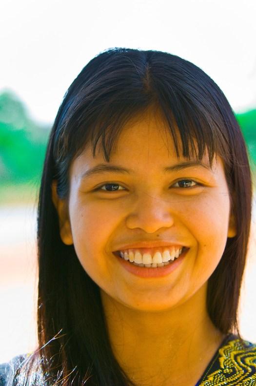 Burmese woman, Bago, Myanmar (Burma) | Blaine Harrington III