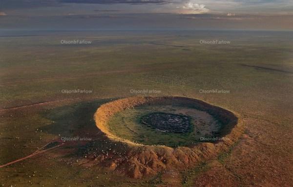 Stark Landscape in Australian Desert Randy Olson and