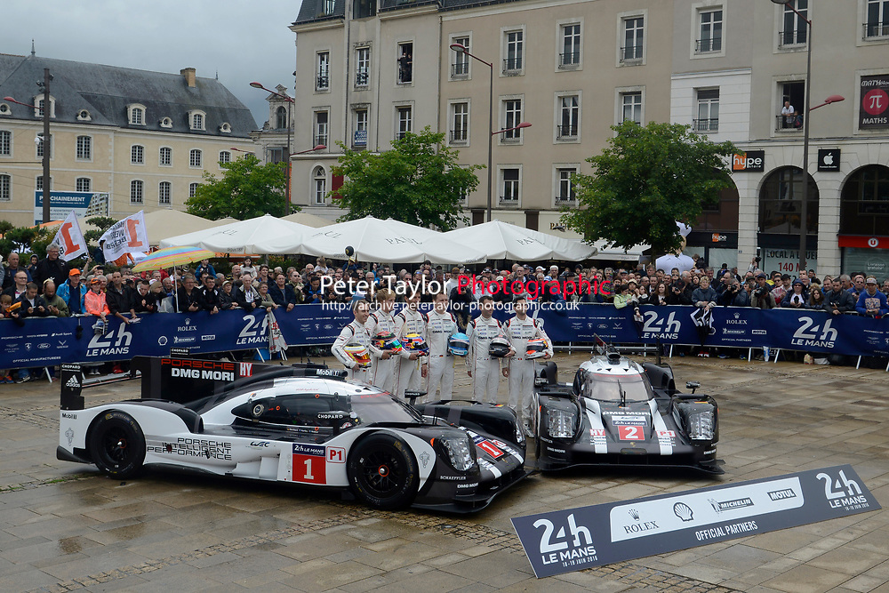 Porsche Team Porsche 919 Hybrid, Le Mans 24 Hr 2016