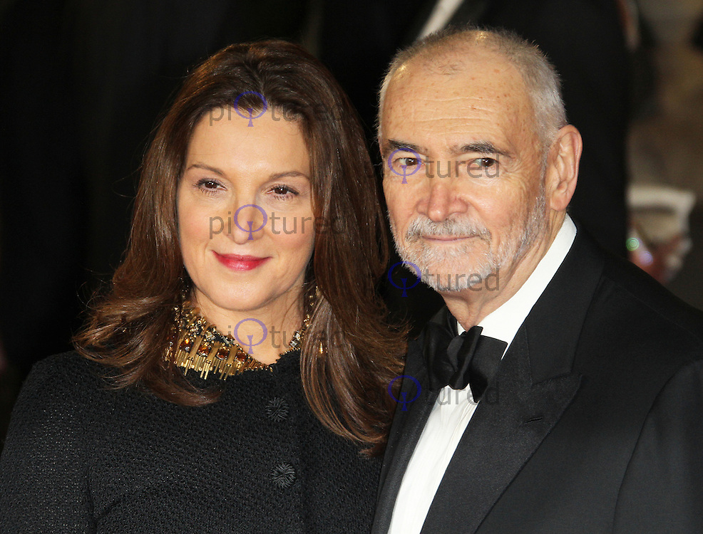 Skyfall   Royal World Film Premiere   Celebrity and red carpet pictures LONDON   OCTOBER 23  Barbara Broccoli  Michael G  Wilson attended the Royal  World