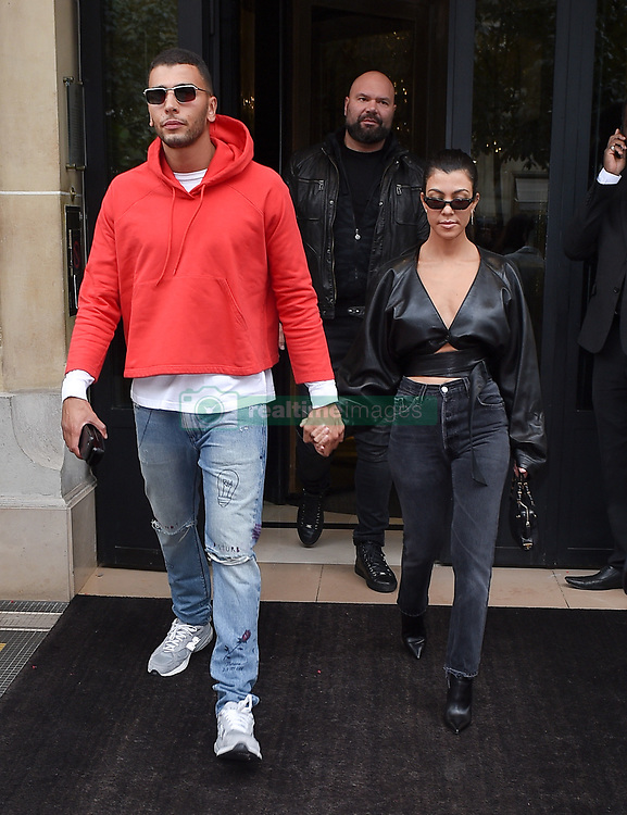 Kourtney Kardashian and boyfriend Younes Bendjima are seen ...