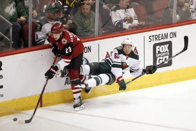 Minnesota Wild vs. Arizona Coyotes - 10/16/18 NHL Pick, Odds, and Prediction