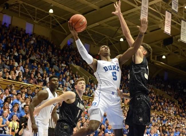 Duke vs. Eastern Michigan - 11/14/18 College Basketball Pick, Odds, and Prediction