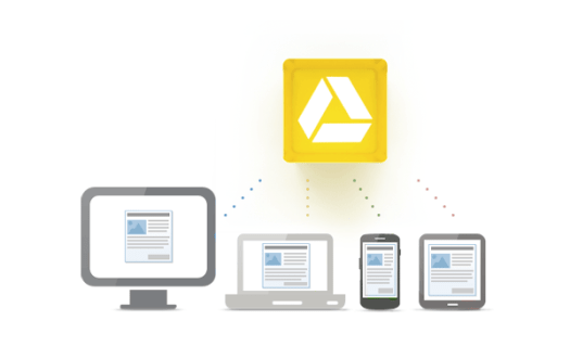 Sync all of your devices to Google Drive