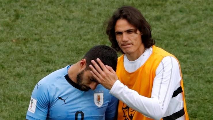 2018 World Cup: Francis defeats Uruguay 2- 0 (Photos)