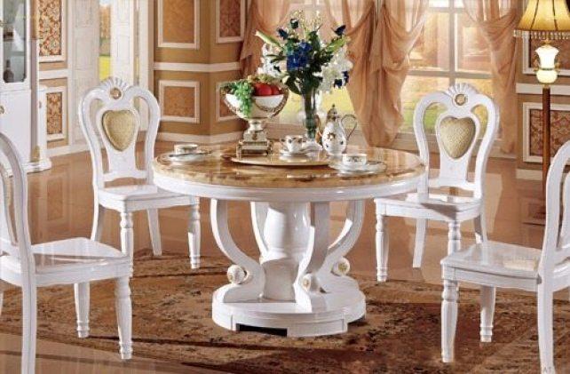Những mẫu bàn ghế ăn đẹp siêu lòng giới thượng lưu