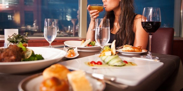 $99 -- Vegas: 7-Course Dinner w/City Views at Alizé, 40% Off