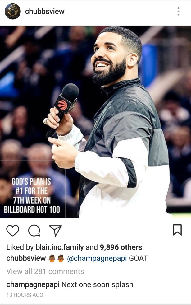"Drake Says New Music ""Soon Splash"" drake 20screenshot"