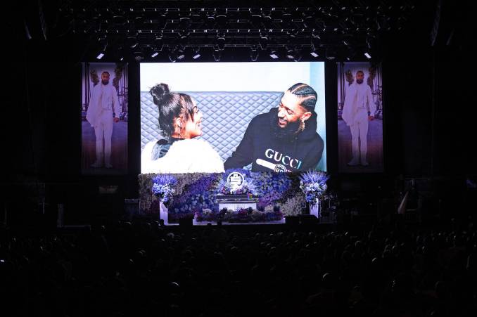lauren london nipsey hussle valentine's day
