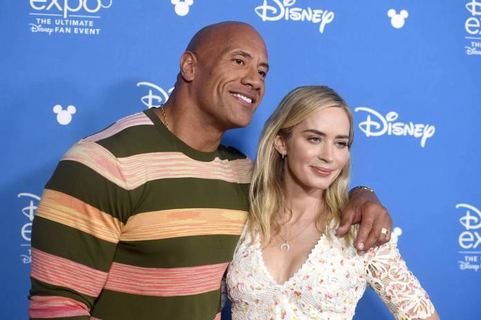 Dwayne The Rock Johnson Emily Blunt Disney Trailer Jungle Cruise