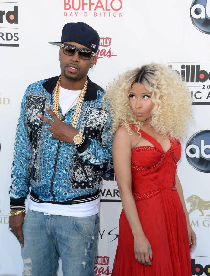 Safaree Samuels Nicki Minaj, Clap back