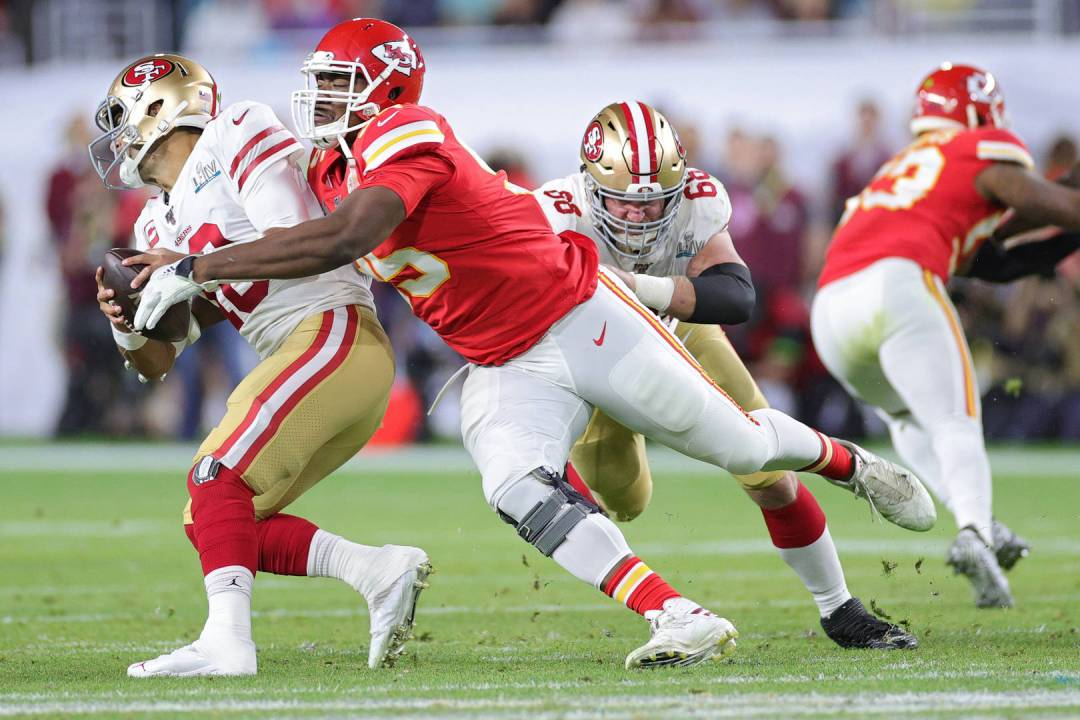 Chris Jones, Chiefs, Contract