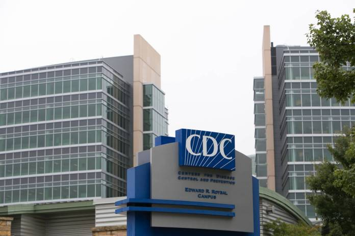 Exterior of the Center for Disease Control (CDC) headquarters is seen on October 13, 2014 in Atlanta, Georgia. Frieden urged hospitals to watch for patients with Ebola symptoms who have traveled from the tree Ebola stricken African countries.