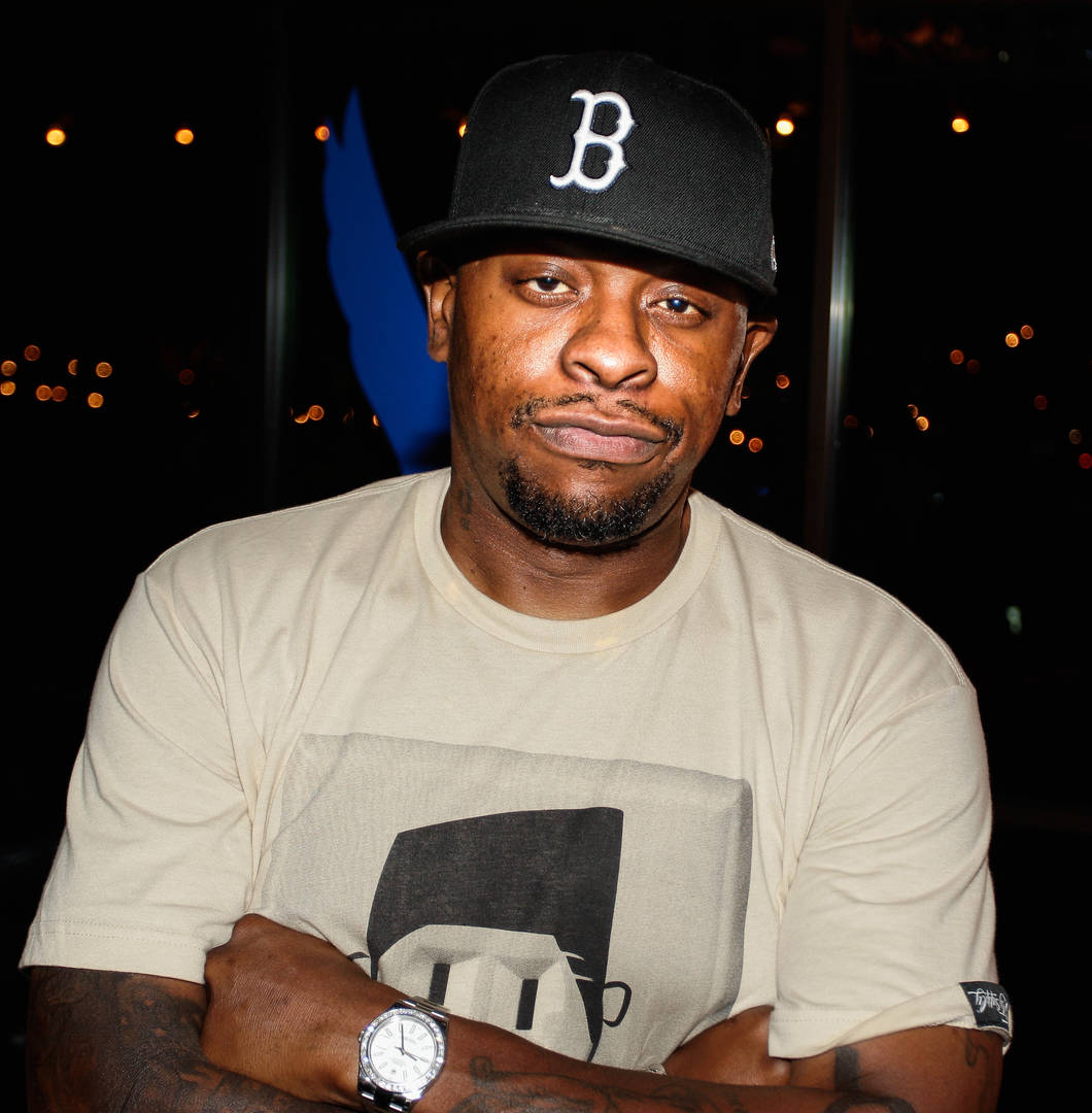 Houston rapper Scarface at the UrbanDaddy Presents Grey Goose Le Melon Fruit Of Kings - Houston at Hotel Zaza on July 31, 2014 in Houston, Texas.