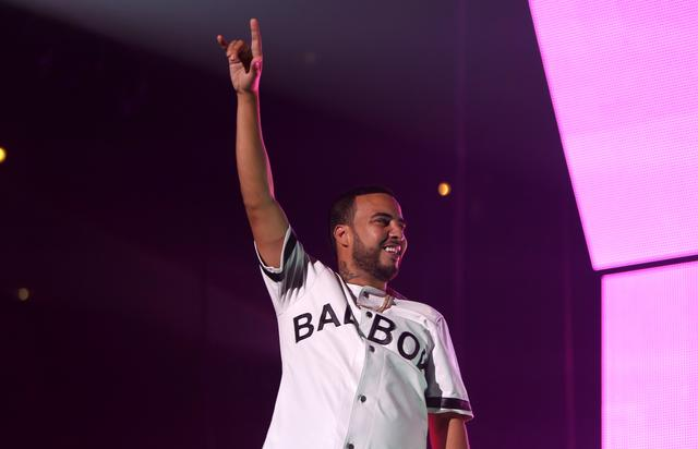 French Montana at the Bad Boy reunion tour