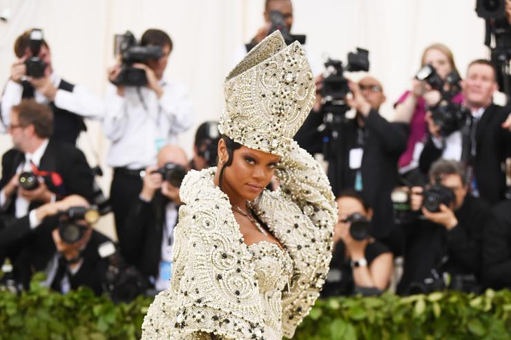 Rihanna at Met Gala
