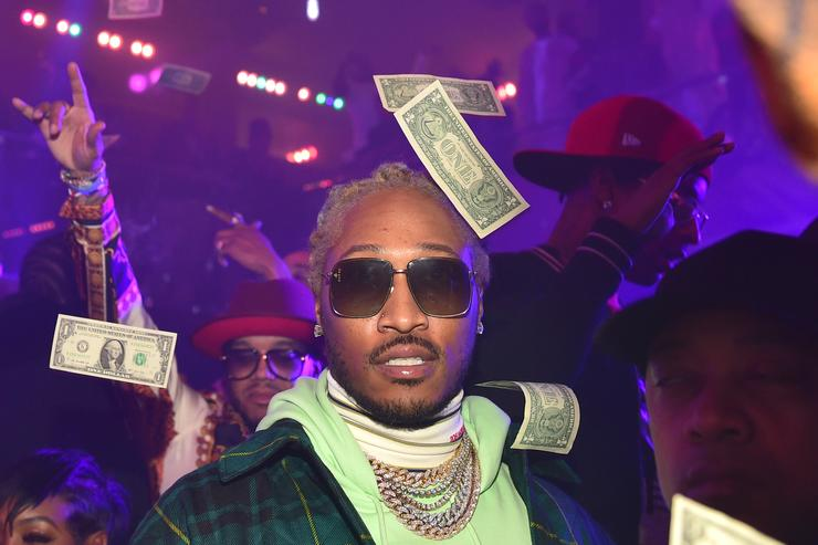 Rapper Future attends the 2nd annual No Cap Tuesday at Gold Room on January 16, 2019 in Atlanta, Georgia.