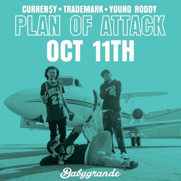 Image result for Curren$y, Trademark Da Skydiver & Young Roddy – Big Dogs