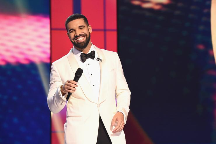 Host Drake speaks on stage during the 2017 NBA Awards Live On TNT on June 26, 2017 in New York City.