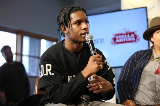 ASAP Rocky and the cast of Monster participated in a live Q&A hosted by Stella Artois and Deadline.com at Cafe Artois during the Sundance Film Festival in Park City, Utah on Sunday, January 21, 2018