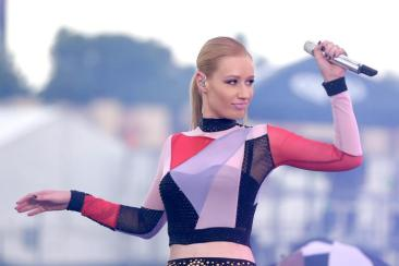 Iggy Azalea performs onstage during the 2014 iHeartRadio Music Festival Village on September 20, 2014 in Las Vegas, Nevada