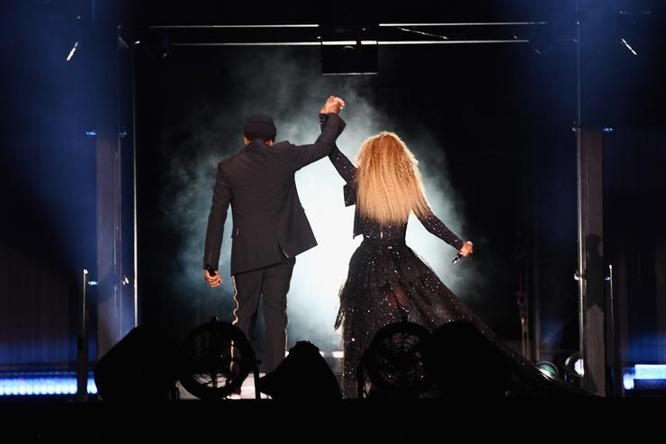 """a2eb801c8d190 Jay-Z and Beyonce brought out all the celebrities during their extensive  """"On The Run II"""" tour."""