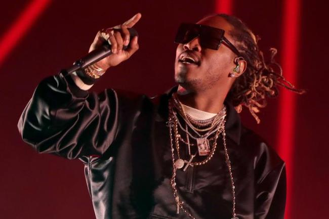Rapper Future performs on the Coachella stage during day 3 of the Coachella Valley Music And Arts Festival (Weekend 1) at the Empire Polo Club on April 16, 2017 in Indio, California.