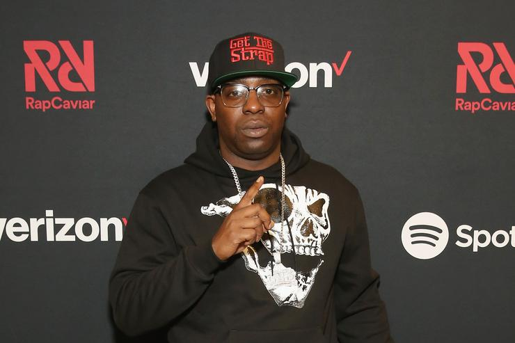 Uncle Murda attends Chance The Rapper to Headline Spotify's RapCaviar Live In Brooklyn in Partnership with Live Nation Urban and Verizon on September 29, 2018 at Ford Amphitheater at Coney Island Boardwalk in Brooklyn, New York.