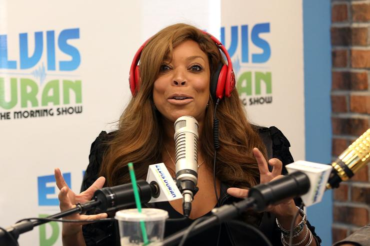 Wendy Williams visits 'The Elvis Duran Z100 Morning Show' at Z100 Studio on September 26, 2014 in New York City