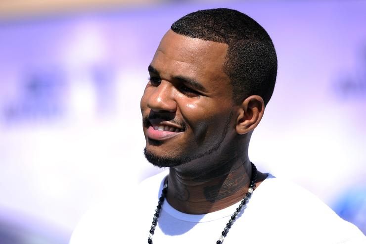 Game arrives at the BET Awards '11 held at the Shrine Auditorium on June 26, 2011 in Los Angeles, California