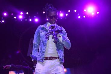 Young Thug performs at Pandora Presents: The ATL at The Tabernacle on May 5, 2016 in Atlanta, Georgia