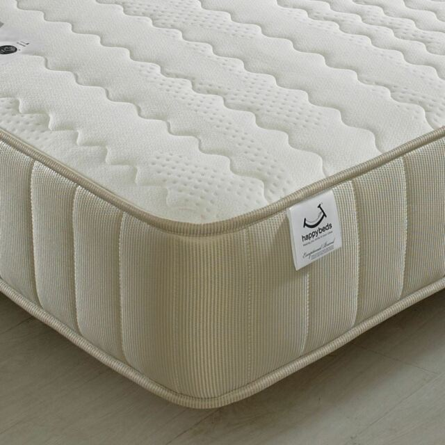 Hy Beds Memory Flex Orthopaedic Foam Mattress Bonnell Spring Anti Dust