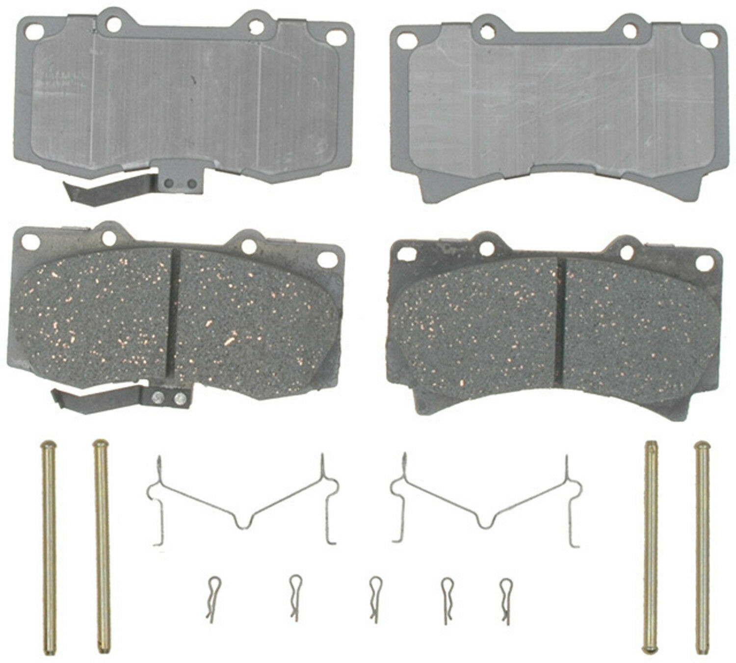 Disc Brake Pad Ceramic Front ACDelco 14D1119CH