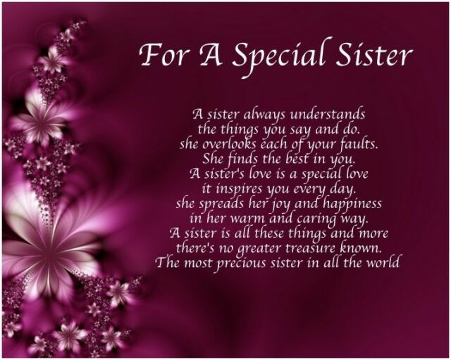 Personalised Special Brother Poem Word Art 40 50 60 65th