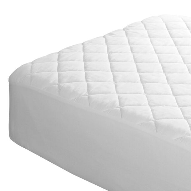 Quilted Single Mattress Protector Made By Fogarty
