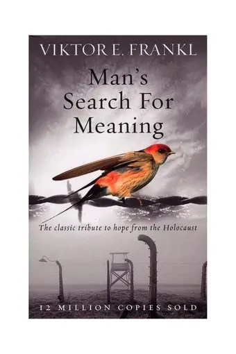 Man's Search for Meaning  || livro de crescimento pessoal